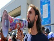 Presidente da UNE faz protesto em evento do MEC: