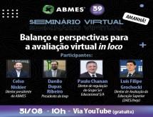 Vice-Presidente da ABRAFI participará do Seminário 'Balanço e Perspectivas para a Avaliação Virtual In Loco', promovido pela ABMES
