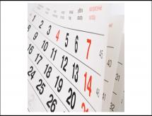 Liberado novo Calendário Regulatório para 2020