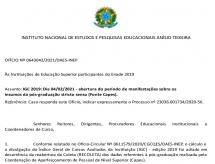 CAPES reabrirá período de manifestações das Instituições de Ensino Superior sobre os insumos da Pós-Graduação Stricto Sensu