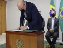 Milton Ribeiro toma posse como quarto ministro da Educação no governo Bolsonaro