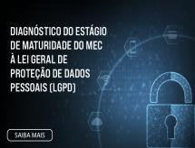 Diagnóstico do estágio de maturidade do MEC à Lei Geral de Proteção de Dados Pessoais (LGPD)