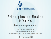 Princípios do Ensino Híbrido - ABED