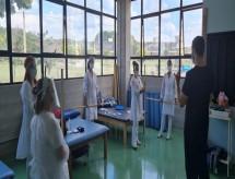 Futuros fisioterapeutas têm treinamento para atendimento de reabilitação pós-covid