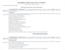 Conselheiros nomeados para o CNE