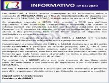 INFORMATIVO ABRAFI nº 02/2020