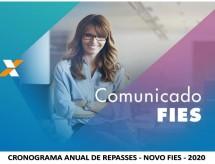 Comunicado NOVO FIES - Prorrogação Aditamento 2_2020 e Mensagem Null