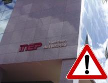 Inep alerta sobre tentativa de golpe com nome do Instituto