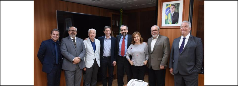 Presidente da ABRAFI participa como integrante do FÓRUM em audiência com Ministro da Educação