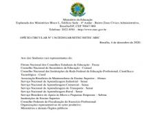 Abertura do processo de atualização do Catálogo Nacional de Cursos Superiores de Tecnologia