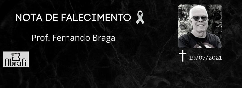 A ABRAFI lamenta o falecimento do Professor Fernando Braga