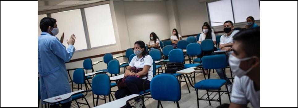 Amazonas registra 342 professores com covid vinte dias após volta às aulas