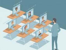 Pesquisa aponta que 6 em cada 10 alunos não aprovam aulas online