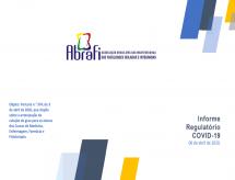 A ABRAFI emite informe sobre a antecipação da colação de grau dos alunos da área de Saúde