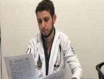 Aos 20 anos, médico se torna o mais jovem do país e vai atuar na pandemia