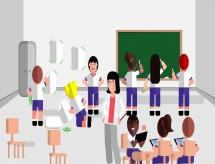 'Ensino híbrido': as dificuldades para o aprendizado com parte da turma on-line e a outra na sala de aula