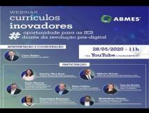 A ABMES transmitirá Webnar sobre Currículos Inovadores