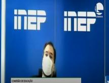 Ele não quis dizer que participará da elaboração do Enem, diz presidente do Inep sobre ministro pedir acesso antecipado à prova