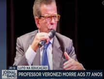 BAND e ABRAFI homenageiam o Prof. Veronezi